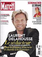 Paris Match Magazine Laurent Delahousse Michael Schumacher Christiane Taubira