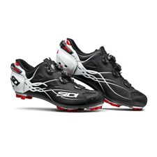 SIDI Tiger MTB Cycling Shoes Bike Shoes Matt Black/White Size 40-46 EUR Italy