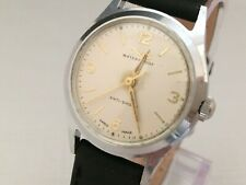 ORIS  Vintage Mechanical Hand Winding  Wristwatch 7 Jewels Mov. Kif 582  GWO