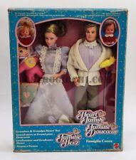 THE HEART FAMILY FAMIGLIA CUORE NONNO NONNA  MATTEL VINTAGE 86 NEW IN SEALED BOX