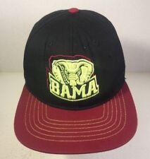 University of Alabama Bama Crimson Tide Elephant Logo Hat Baseball Cap Adult e2ca5ed3e942