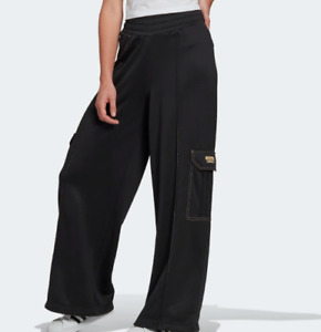 Adidas R.Y.V. Women's Track / Pants GN4245 Black Size M Relaxed Sweatpants