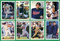 1994 FLEER MINNESOTA TWINS TEAM SET  NM/MT  HRBEK  KNOBLAUCH  PUCKETT   WINFIELD