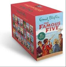 Enid Blyton Famous Five Series, 21 Books Box Collection Pack Set (Complete Gift