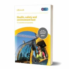 NEW CITB Health, Safety & Environment Test Revision Book GT100/17 for CSCS Book