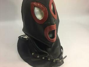 """MicheleX MXL518 Real Leather Female """"ROUGE"""" Hood. [NEW]"""