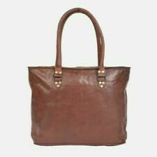 Soft Real Leather Satchel Messenger Cross Body Bag Limited Edition