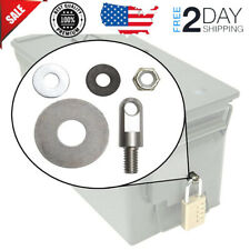 Locking Hardware for Steel Ammo Can 20 to 50 Cal by Case Club