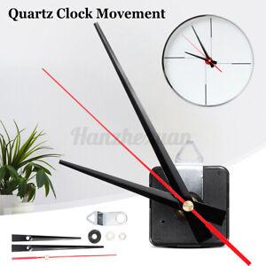 DIY Aluminum Hand Quartz Silent Clock Movement Mechanism Kit Replacement Fitting