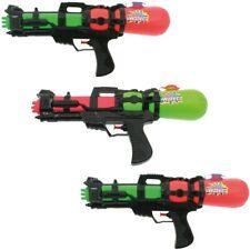 3x XL Wasserpistole Wasser-Pistole Spritzpistole Kanone Water Gun mit Tank 38 cm