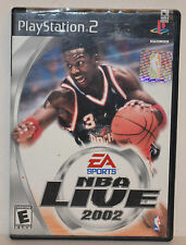 """PS2 SONY Playstation 2 Video Game """"NBA Live 2002"""",  !!! FREE SHIPPING !!!"""