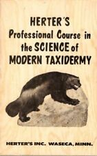 B000MKLGG0 Herters Professional Course in the Science of Modern Taxidermy