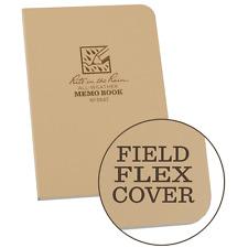 Rite In The Rain Universal Memo Note Book, 3.5 x 5 pouces, marron