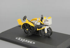 "1/43 Tractor ""KARLIK"" USSR Diecast Hachette Wheeled NEW OVP Vintage Farm"