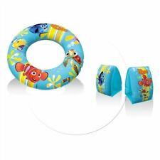 brassards de nage enfant piscine / plage nemo 3/6 ans 18-30 kg + une bouée Smoby