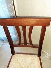 Sedie in legno usate