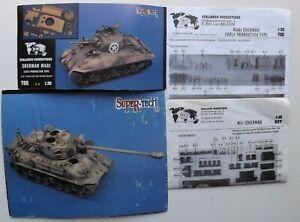 1/35 54m Verlinden  M4A1 Sherman,M51 Isherman, Turret lot  #786 /#807 / #334