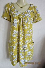 JOULES LOOSE FIT 'MEREDITH' TUNIC WITH POCKETS - SIZE 10-12 - GORGEOUS COLOUR!