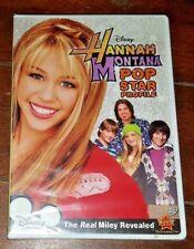 Hannah Montana: Pop Star Profile (DVD, 2007) Free Shipping!