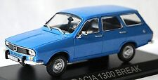 DACIA 1300 Break 1973-79 (Base: RENAULT 12) Blue/Blue 1:43