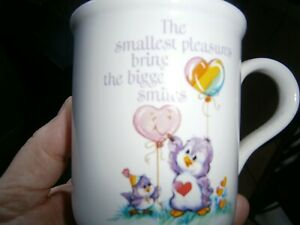 CARE BEAR - ORIGINAL MUG - RACOON COUSIN - STAMPED ON BOTTOM