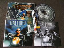HALFORD JUDAS PRIEST/ resurrection /JAPAN LTD CD OBI