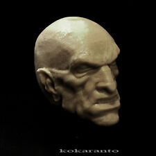 1/6 head sculpt vampire dracula nosferatu zombie  unpainting