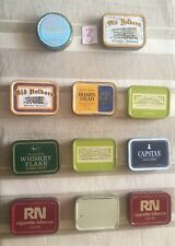Eleven Old Tobacco Tins