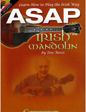 Irish Mandolin Sheet Music ~ 35 Tunes with CD ~ TAB ~ works for Tenor Banjo too!