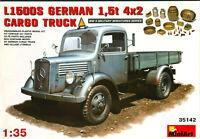 Mercedes L1500S 1,5t 4x2 German Cargo Truck Wehrmacht - miniart - 35142 - 1:35