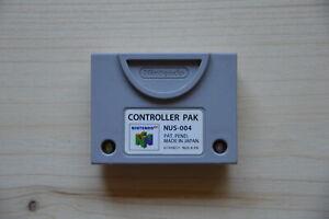 N64 - Original Nintendo Controller Pak