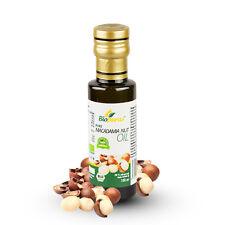 Organique Certifié Froid Pressé Macadamia Huile de Noix 100ml Biopurus