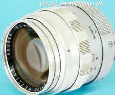Summilux 50mm F1.4 Type 1 LEITZ SOOME 11 114 FAST! LEICA-M Prime Lens from 1959