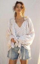 kinga csilla Top Linen Shirt Spots Sz 10