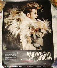 Show Luo Zhi Xiang Lion Roar 2013 Taiwan Promo Poster (Ver.B)