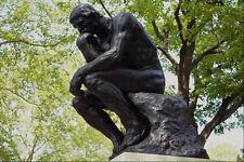 463088  The Thinker  Rodin Museum A4 Photo Print