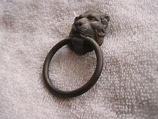 Vintage Lion Head Metal Knob Allison Japan