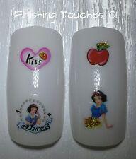 Nail Art de transferencia de agua-Disney Glitter Princess # 381 sy1732 Sticker Snow White