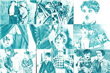 CHARLIE CHAPLIN AMATLLER CHOCOLATES BARCELONA SPANISH REPRINT CARD SET OF 18