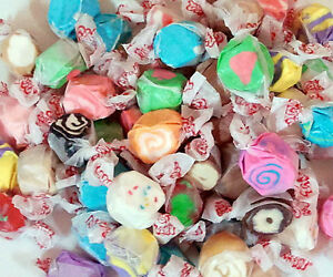 Taffy Town Old Fashion Assorted Salt Water Taffy 1 Lb 453g Made in USA Nut Free