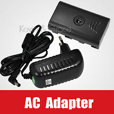 110V~220V AC Adapter Power for SONY NP-F970 F750 F550 LED Light YN300 W260 CN160