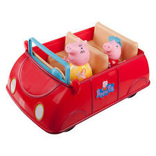Peppa Pig & Mommy Red Car Toy Playset Plays Melody Fun Phrases & Snorts! Mummy