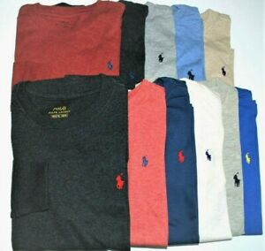 Boys Genuine Ralph Lauren Long Sleeve Soft Cotton Tops - All Sizes CLEARANCE