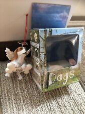 Roman Inc. Beagle Angel Ornament Bark! The Herald Angels Sing...