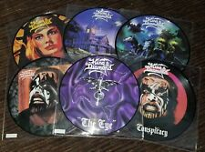 King Diamond. 6 Picture Discs fatal Portrait Them Abigail. Mercyful Fate member