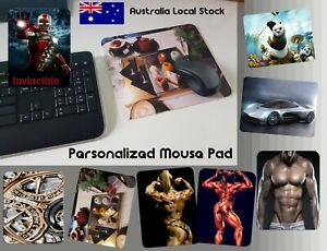 Customized leather gaming mouse pad multicolor large desk mat personalized gift