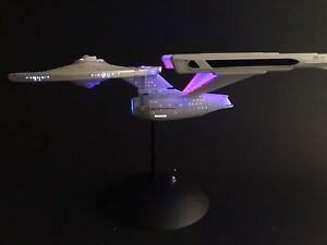 PRO BUILT 1/1000 Enterprise NCC 1701 Refit FULL LIGHTING Prop Replica Star Trek
