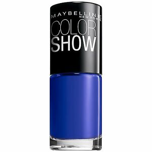 Maybelline Color Show Nail Lacquer Polish SAPPHIRE SIREN 360 BUY 2 GET 1 FREE