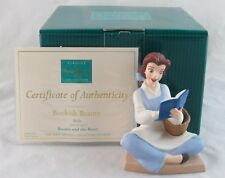 """WDCC """"Bookish Beauty"""" Belle from Disney's Beauty and the Beast in Box with COA"""