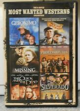 The 6-Movie Most Wanted Westerns Collection (DVD, 2013, 3-Disc Set) MINT DISCS